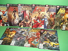 Lote de comics THE MIGHTY AVENGERS 11 Numeros
