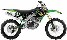 KAWASAKI KXF 250 FACTORY FX ROCKSTAR GRAPHICS KIT STICKERS DECALS 09 10 11 12