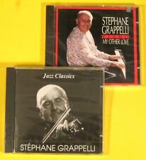 STEPHANE GRAPPELLI: Two Brand-New Shrinkwrapped CD Rarities (FOR COMPLETISTS!)