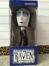 Halloween Bobble Head Raven The Nodding Goth Girl Gothic New In Box