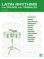 Latin Rhythms for Drums and Timbales Reed, Ted