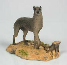 scottish deerhound  figur  hund North light hundefigur dog alabaster