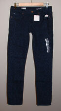 NWT GAP FALL '13 ALWAYS SKINNY LOW RISE CHEETAH PRINT STRETCH JEANS NEW SIZE 26