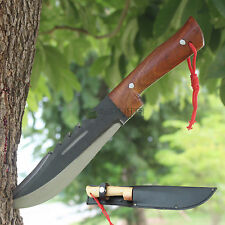 """Thai Knife 7"""" Bowie Fixed Blade Full Tang Tactical Hunting Survival With Sheath"""