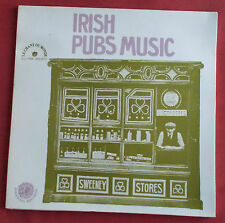 IRISH PUBS MUSIC LP ORIG FR FOLKWAYS / CHANT DU MONDE