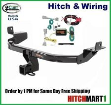 "FITS 2014-2016 JEEP CHEROKEE CLASS 3 CURT TRAILER HITCH & WIRING 2"" TOW RECEIVER"