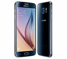 NEUF SAMSUNG GALAXY S6 32GB 3GB G920F DEBLOQUE NOIR 16MP CAMERA SMARTPHONE