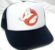 Ghostbusters Costume Hat  Easy & Quick Halloween low cost Adjustable NEW Black