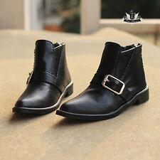 70cm Uncle BJD Shoes Dollfie DREAM PUNK Black Leather Boot MID DOD Luts SOOM EID