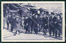 Fascismo Benito Mussolini Milano Fiera Esposizione cartolina QT5193