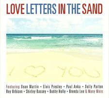 LOVE LETTERS IN THE SANDS - 2 CD BOX SET - BUDDY HOLLY, PAUL ANKA & MORE