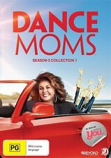 Dance Moms: Season 5 - Collection 1 - Maddie Ziegler BRAND NEW R4 DVD abby lee