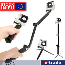 3-in-1 Berg 3-Way Grip Arm Stativ selfie Sportkamera für GoPro HD Hero 3 3+ 4
