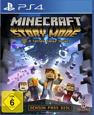 Minecraft: Story Mode (Sony PlayStation 4, 2015, DVD-Box)