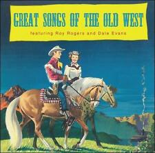 Great Songs of the Old West by Dale Evans (Country)/Roy Rogers (Country) (CD,...
