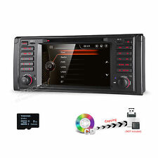 "for BMW 5 Series E39 Car GPS Navigation System Stereo DVD Player Radio 7"" Touch"