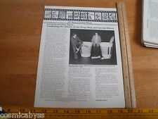 Disney Newsreel WED MAPO Employees mag 1983 Small and Frye TV props Herbie