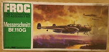 Messerschmitt Bf.110G Frog 1/72 VINTAGE model aircraft kit Sealed Bag #157