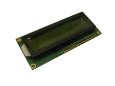 16 x 2 LCD display modulo hd44780, Giallo