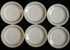 Lot x6 assiettes plates GEORGES BOYER Porcelaine de LIMOGES (lot n°4)