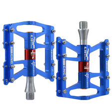 """RockBros Cycling Pedals Bicycle 4 Sealed Bearings Aluminum Alloy  9/16"""" 1Pair"""
