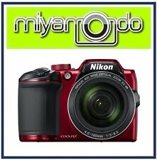 Nikon CoolPix B500 Digital Camera (Red) + 8GB + Case (M'sia)