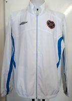 HEARTS WHITE TRACK JACKET BY UMBRO ADULTS SIZE XXL BRAND NEW WITH TAGS