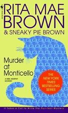 Mrs. Murphy: Murder at Monticello by Rita Mae Brown (1995, Paperback)