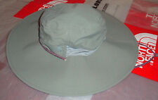 NWT The North Face Womnes Horizon Brimmer Wide Brim Sun Hat $35 Gray Large - XL