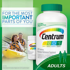 425 Tablets Centrum Adults 365 + 60 = 425  Tablets Multi-Vitamin Multi-Mineral