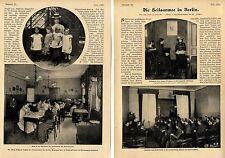 Die Heilsarmee in Berlin (Rettungsheim Friedenau) Bericht m.histor.Aufnahm. 1907