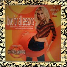 NEW Christina Aguilera Collectors Edition: #2 Love For All Seasons PROMO CD