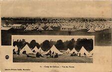 CPA Militaire, Camp de Chalons - Vue des Tentes (277600)