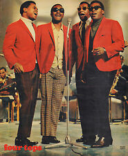 FOUR TOPS - PHOTO'S + ARTICLES  FROM DUTCH MUSIC MAGAZINES 1969
