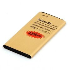High Capacity Gold Battery for Samsung Galaxy S V (S5) GT-i9600 - 4200mAh