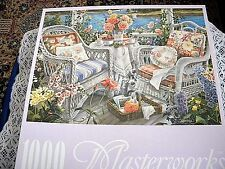 """RoseArt  """"Memorable Afternoon"""" 1000  Piece Jigsaw Puzzle NIB"""