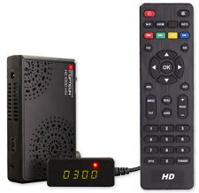 HDTV HD FULL Digital Sat Receiver Camping 12 VOLT OPTICUM X300 MINI HDMI NEU