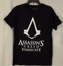 NWT – Men's ASSASSINS CREED SYNDICATE GAMER T-shirt (S) BLACK