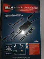 Tevion Portátil Cargador de viaje con adaptadores para automóviles y aviones-Nuevo Y En Caja