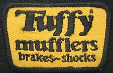 TUFFY MUFFLERS EMBROIDERED SEW ON PATCH BRAKES SHOCKS AUTOMOBILE UNIFORM