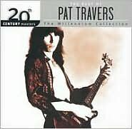 PAT TRAVERS : 20TH CENTURY MASTERS: MILLENNIUM COLL (CD) Sealed