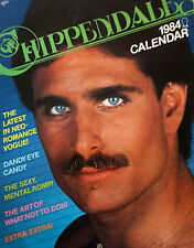 VINTAGE RARE CHIPPENDALES 1984 CALENDAR (HARD TO FIND, COLLECTOR'S ITEM)
