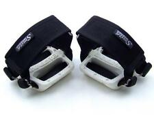Black colour Foot Straps-Toe Clips - Fixed Gear- Track fixed- Pedals