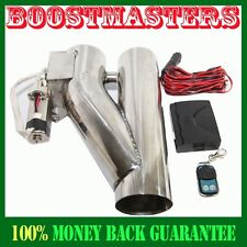 """For 3"""" Exhaust Header Piping System UNIVERSAL ADJ Remotor Exhaust Cut off Valve"""