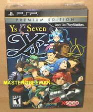 Ys Seven: Premium Limited Edition New Sealed (Sony PSP, 2010)