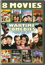 WARTIME COMEDIES 8 MOVIES New DVD Abbott Costello Bob Hope Bing Crosby