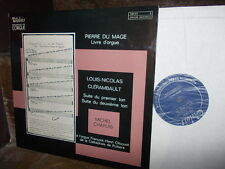 du MAGE + CLERAMBAULT: Organ works Orgel orgue   Chapuis / Valois stereo exc