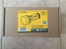 NEW NITECORE TM16 4000 LUMENS LED FLASHLIGHT[tm15, tm26,tm36]