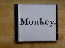 GEORGE MICHAEL MONKEY CD SINGLE CD EMU 6 - 'NEAR MINT' CD AND INSERT - VERY RARE