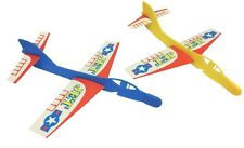 20 x Plastic Toy AEROPLANE GLIDERS (Party Bag Fillers/Party Favours/Games)